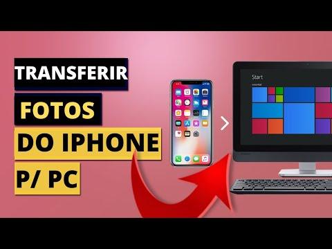 Transferir E Importar Fotos, Videos E Arquivos Do IPhone Para PC Com Windows 10