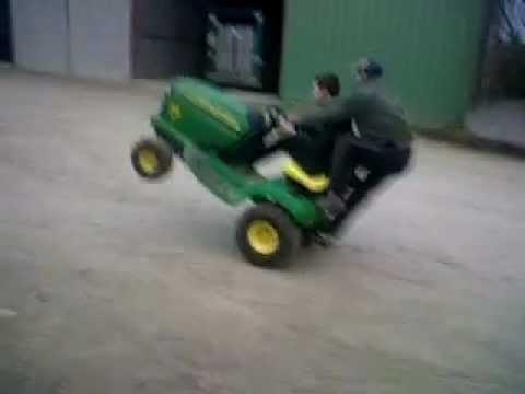 Roue en tracteur tondeuse encore mieux quand moto vtt dirt - Roue tracteur tondeuse ...