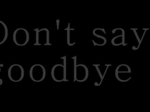 Skillet - Say Goodbye (lyric Video)