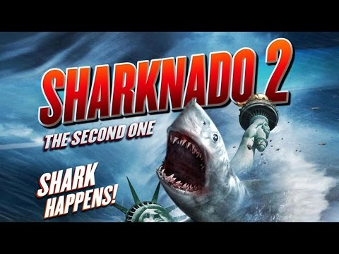 Sharknado 2 TOP 5 Funniest Moments