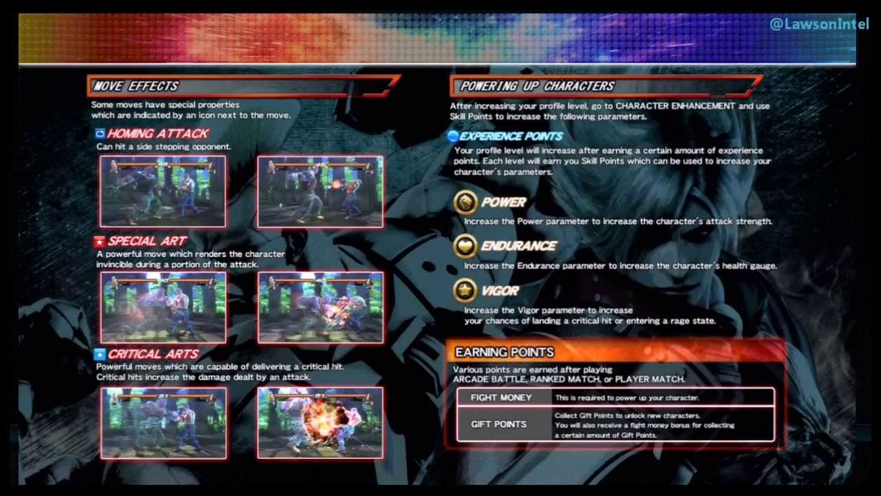 How to access Tekken Revolution Software Manual PS3 ) - YouTube