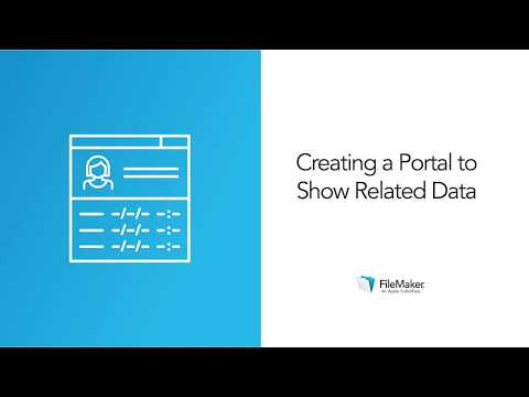 Creating a portal to show related data