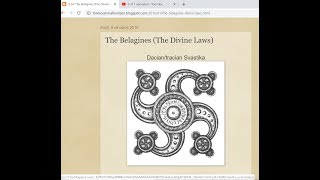 The Divine Laws - The Belagines and their Gothic or Aryan Origins