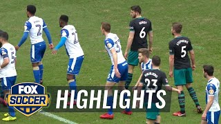 Wigan Athletic vs. Southampton | 2017-18 FA Cup Highlights