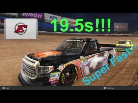 NASCAR Heat 2 Setup - Eldora Setup (Camping World Truck Series)