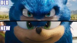 TRAILERS COMPARISON (Sonic Movie)
