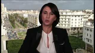 د. نبيلة منيب الأمين العام للحزب الاشتراكي الموحد في المغرب