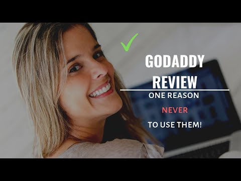 😲😲GoDaddy Reviewed for 2019 [The Reason I DON'T Recommend Them]😲😲