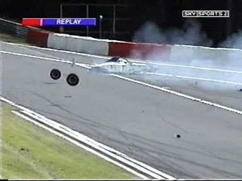 John Embiricos huge crash Formula Palmer Audi at Spa 2005