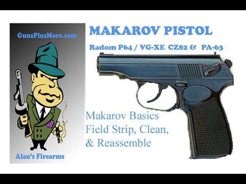 AlansFirearms: Makarov, shoot, review, field strip, and reassemble