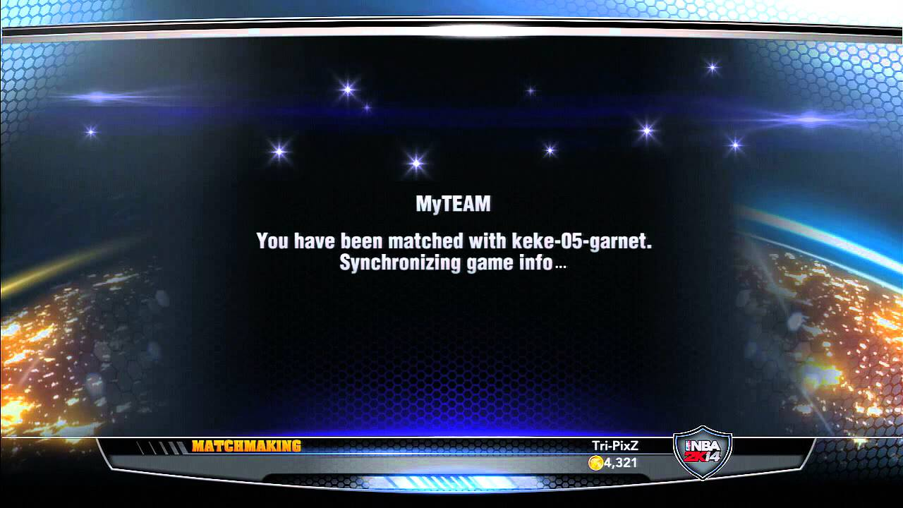2k14 my team matchmaking