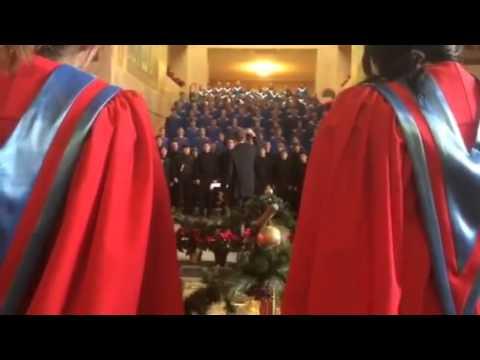 The South Salem High School Combined Choirs, Silent Night - Arr. Kelly Carlisle