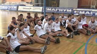 Спортивный посланник Мисти Мэй-Тринор в России