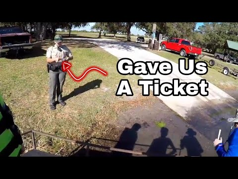 Game Warden Ruins Fishing Trip/Vlog#2