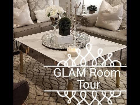 GLAM ❤STUDIO/ OFFICE /BASEMENT REVEAL TOUR (FINALLY)😁
