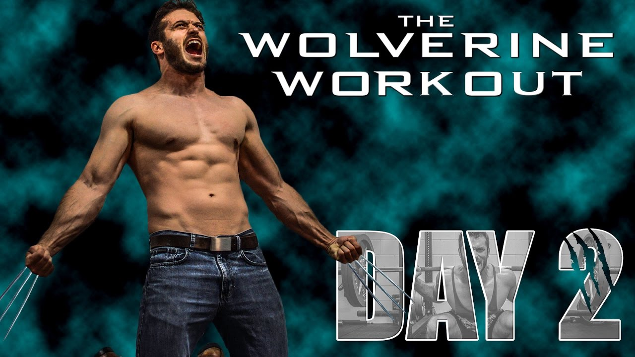 The Wolverine Hugh Jackman Full Workout- Day 2, Legs and ...
