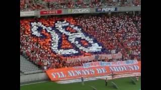 バックスタンド上層席からも28がくっきりと見えました FC東京 VS ア...