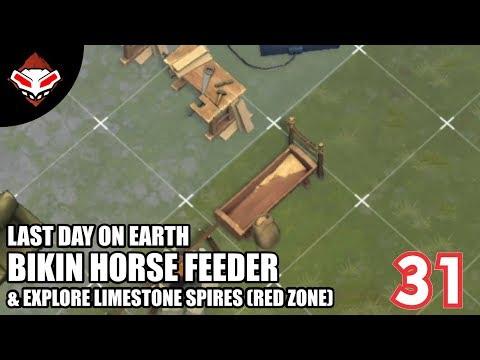 Last Day on Earth - (31) Bikin Horse Feeder & Explore Limestone Spires (Red Zone)