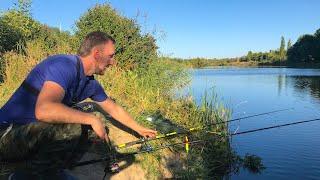 Рыбалка на КАРАСЯ в Сентябре на Фидер! Карась на Фидер + РОЗЫГРЫШ!!!