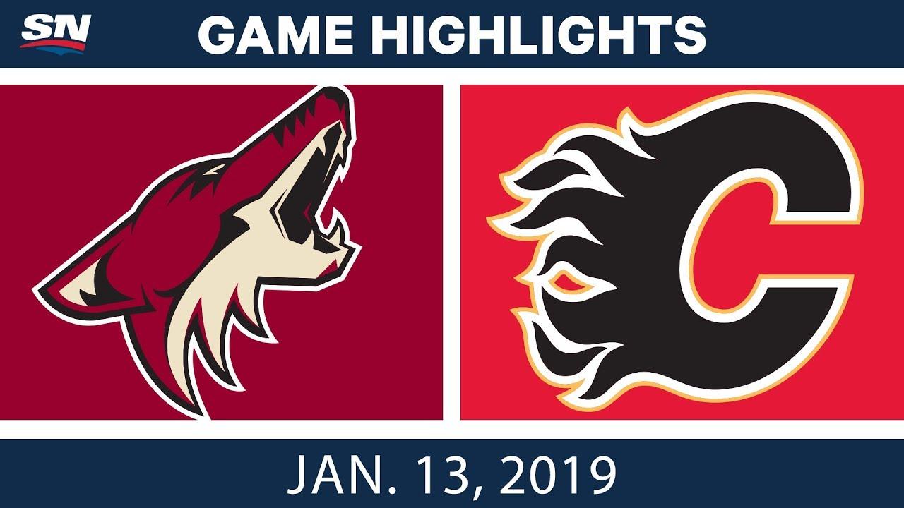 nhl-highlights-coyotes-vs-flames-jan-13-2019
