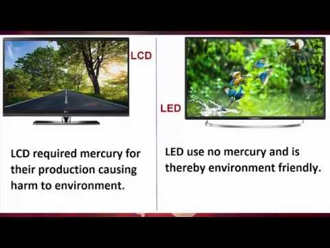 LED vs LCD | Difference between lcd and led tv which one is better