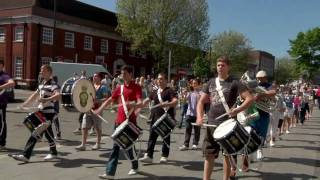 Royal British Legion Youth Band Brentwood - Blaze Away - Flash Mob