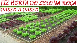 Como Começar uma Horta do Zero