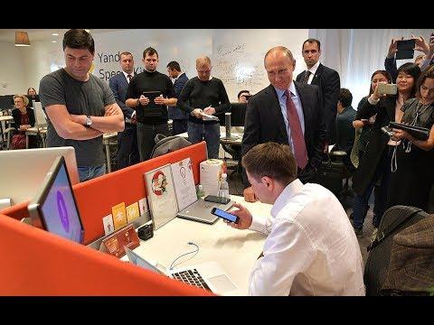 "FAIL: Putin Embarrasses Yandex AI Robot That Fails to Answer ""Tough Questions"""