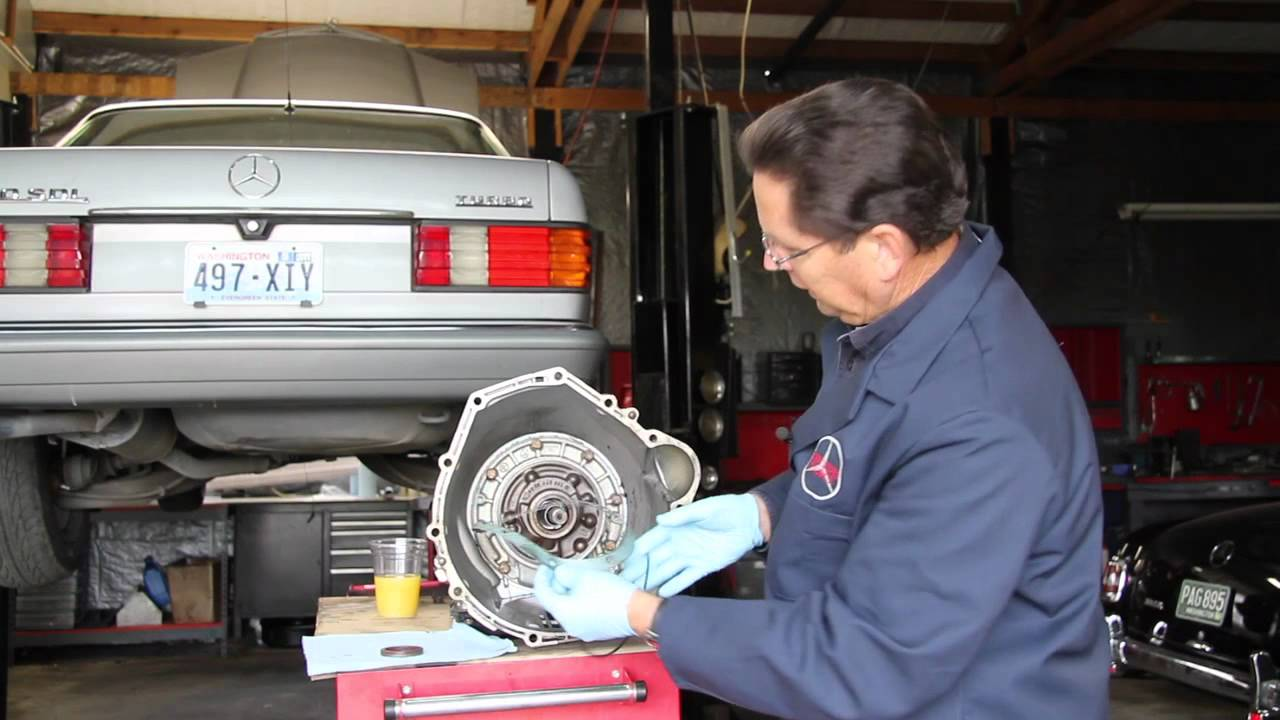 medium resolution of mercedes automatic transmission seal leak diagnosis part 1 what to look for youtube