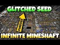 Minecraft - INFINITE MINESHAFT GLITCH SEED [ Showcase ] MCPE / Xbox / Bedrock