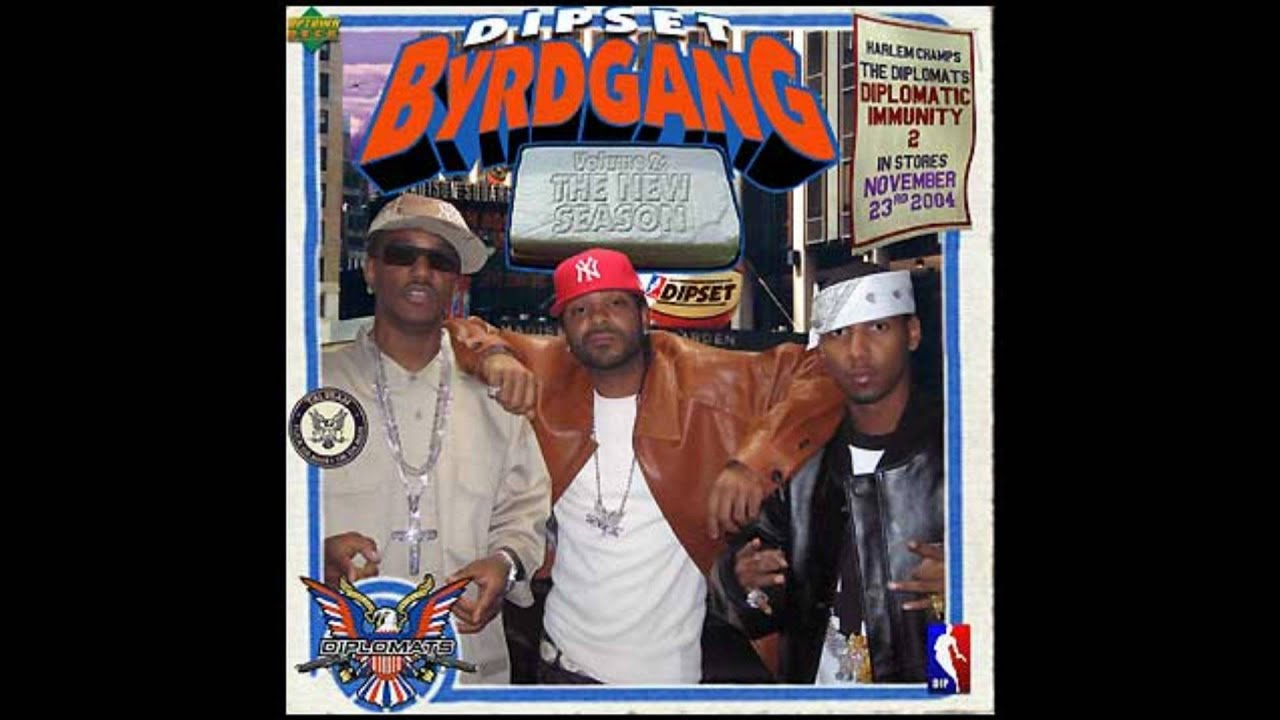 01 Dipset Byrd Gang - Starting Line Up  / Dipset Byrd Gang Vol.2 The New Season 2004