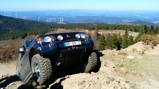 hill climb Mitsubishi Pajero Intercooler Turbo 2800 Off Road