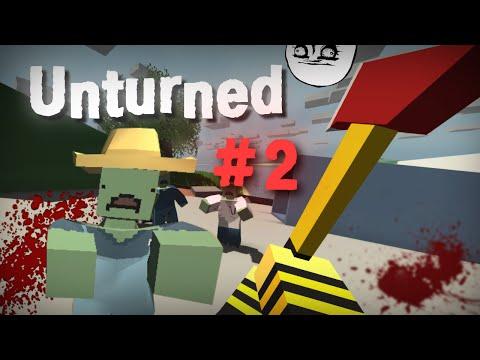 Unturned #2 [Зомби Апокалипсис]
