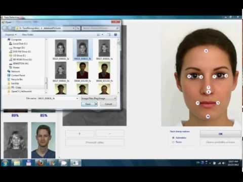 Face recognition and detection project