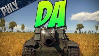 THE RUSSIAN DANCE CLUB - SU-152 One Shot (War Thunder Tanks Gameplay)