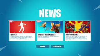 NEW FREE FORTNITE *DISNEY EMOTE* In Today's Item Shop (November 24th 2018)