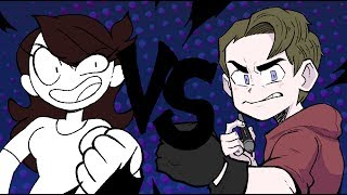 Jaiden Animations vs RubberNinja [SCRIBBLE SHOWDOWN]