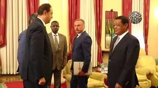 Dr.Hasan Sert Etiyopya Cumhurbaşkanı Mulatu Teshome görüşmesi