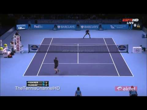[Masters 2012] Andy Murray Vs Roger Federer Semi Final