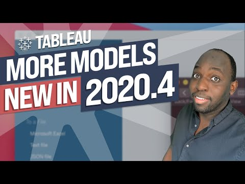 Predictive model improvements - New in Tableau 2020.4