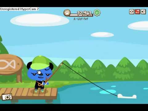Pet Society  Como Pescar Un Pez Perro