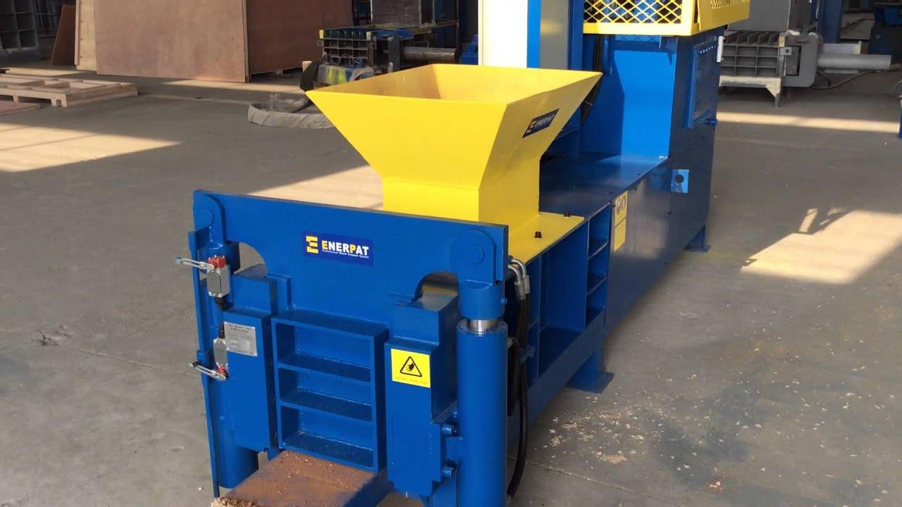 Enerpat block making machine for sawdust wood shavings