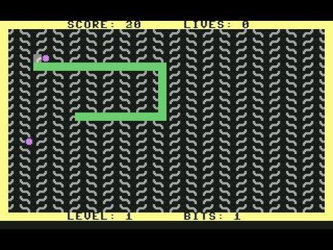 C64 Game: Light Cycles V3.2b