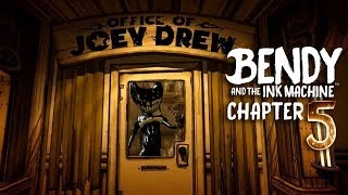 I HACKED INTO CHAPTER 5-JOEY DREW CREATED BENDY! -Fortnite, the