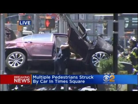 Sources: Driver Pulled From Car In Times Square Crash