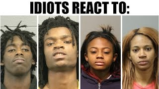 IDIOTS REACT TO #BLMKidnapping