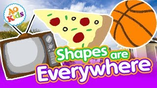 Фото Shapes Are Everywhere!   Kids Learning Song