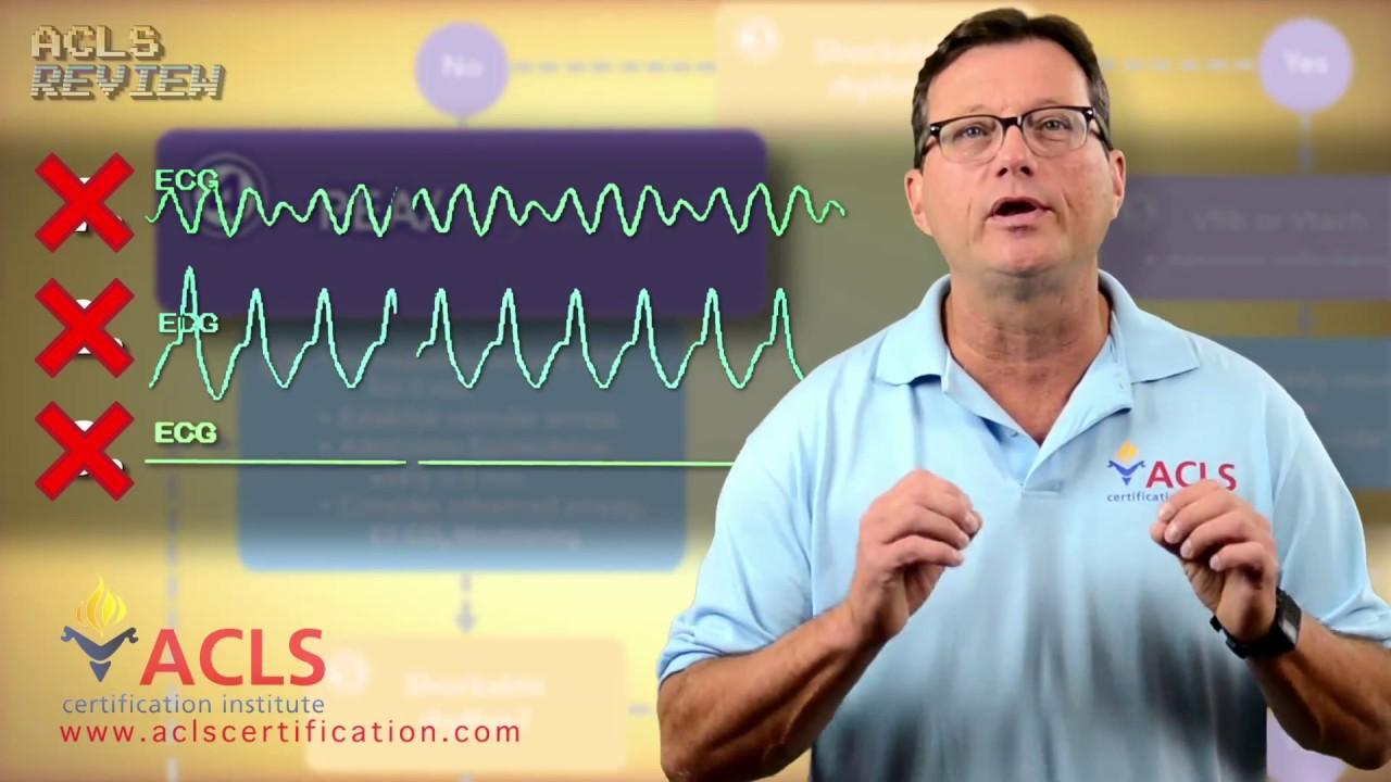 acls pea arrest asystole algorithm cardiac adult
