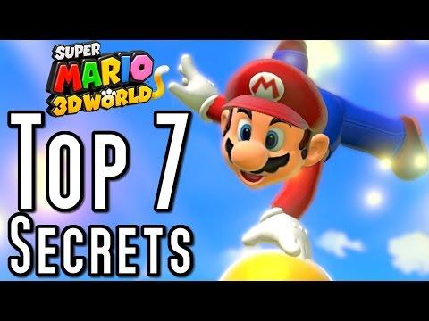 Super Mario 3D World TOP 7 SECRETS (Wii U)