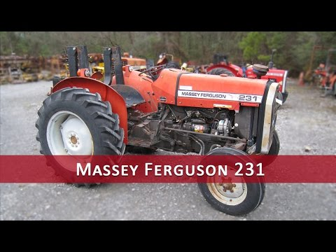 Massey 231 Tractor Parts YouTube